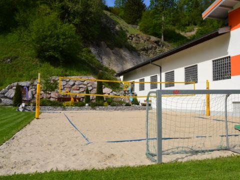 Beachsoccer in der Jugendpension Müllauerhof